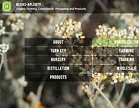 Herbs-Aplenty website