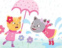 It's raining cats...