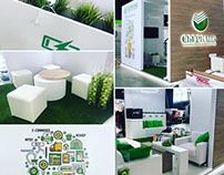 Stand for SBERBANK to the exhibition EcomExpo 17