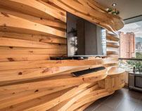 Diseño e intervención apartamento 602. Ed Novecento