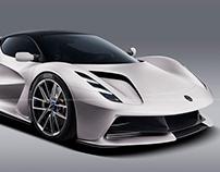 2020 Lotus Evija Crema