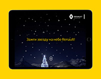 New year promo page for Renault