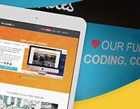 Tres Pixeles Website