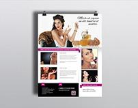 Perfume Business Flyer