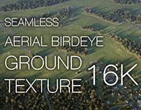 Aerial Birdeye Ground Texture