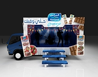 Almarai Treats - Truck