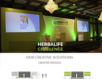 HERBALIFE NUTRITION EVENT DESIGN