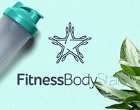 Fitness Body Star logo & web design