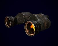 Damaged Binoculars