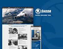 Škoda Machine Tool - Redesign webu