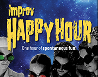 Improv Happy Hour Poster