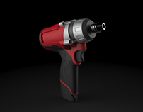 Milwaukee Impact Wrench Solidworks Modeling