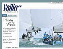SAILING Magazine - CMS and Social Network