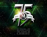 75th Anniversary Branding