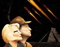 Retro-Futuristic Poster