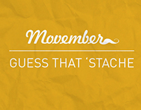 Movember: Guess That Stache