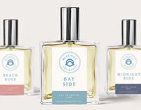 Bluehill Fragrances Rebrand