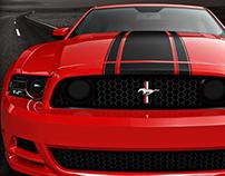 2013/2012 Mustang Poster Designs