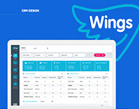 Wings CRM Design
