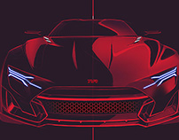 TVR Typhon Sketches