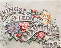 The Making of Kings of Leon 'Beautiful War' Artwork
