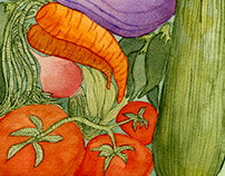 Farmers' Market Vegetable Basket