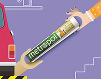 METROPOL 'Pass it on!' image campaign vol.2
