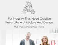 Architect WordPress Theme - Features by Visualmodo