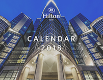 Hilton calendar