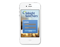 "Weight Watchers ""Closet"" App"