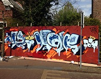 Kingsday wall