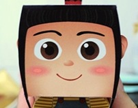 Paper Toy | Agnes from Despicable Me
