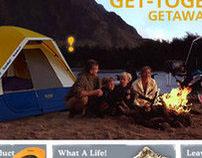 Eureka! Tents web re-launch