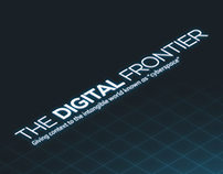 'The Digital Frontier' Internet Map Infographic