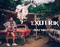 eXOTRik Clothing - Triple Threat / FW16: KIMONO