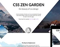 Responsive CSS Zen Garden