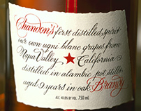 Domaine Chandon Brandy Packaging Design