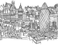 Cityscape Murals