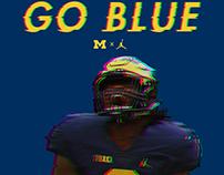 2017 Michigan Football Season Poster