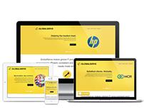 GlobalServe - Responsive Website