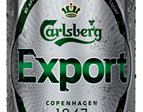 Carlsberg Export retouch
