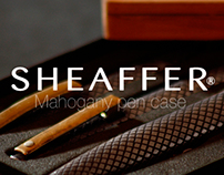 Mahogany box for SHEAFFER