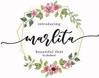 Free Marlita Calligraphy Font