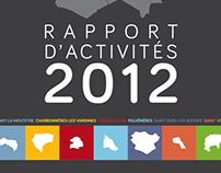 Volvic Sources et Volcans / Rapport d'activités 2012