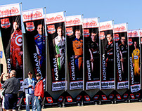 Verizon IndyCar Series Driver Banners