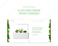 Click & Grow smart garden landing page | WDI Intensive