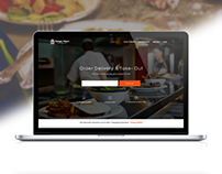 Hungry Hippo - Food Order - Web Template.