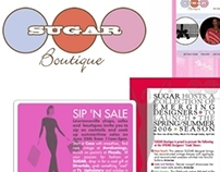SUGAR Boutique Branding