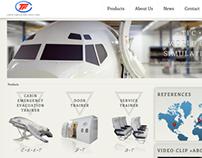 Website for TFC – Aviation Simulators