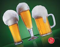 Soproni Ászok beer ad